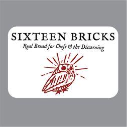 16 bricks